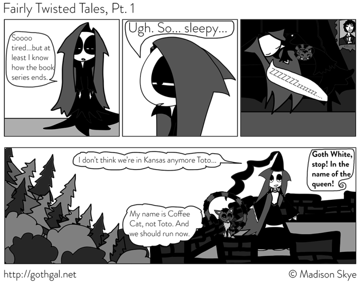 Fairly Twisted Tales, pt 1