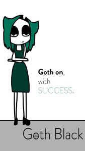 Iphone Goth Black EE