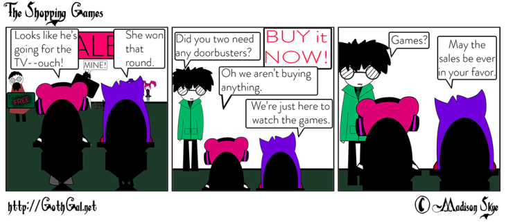 The Shopping Games copy