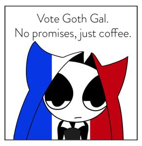 Vote Goth Gal